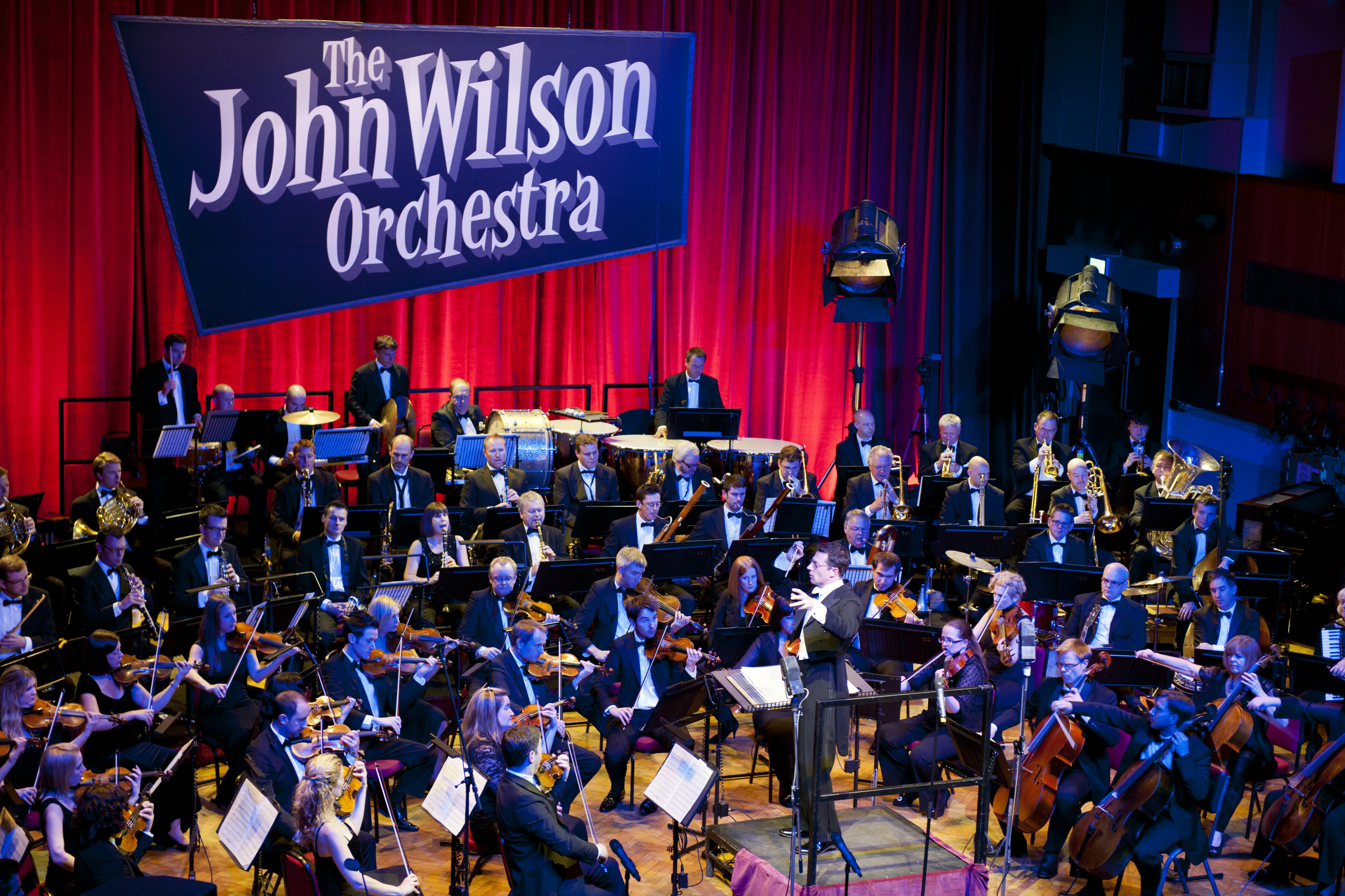 John Wilson Orchestra Launch Caroline Hilton